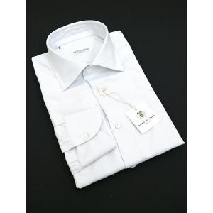 MONTESARO/モンテサーロ/ドレスシャツ/ワイドカラー/ライトグレー/mot302203|rootweb