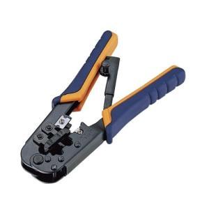 エレコム ラチェットタイプRJ45コネクタかしめ工具 LD-KKTR|rora2020