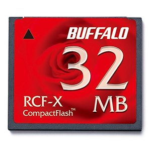 BUFFALO RCF-X32MY コンパクトフラッシュ 32MB|rora2020
