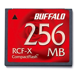 BUFFALO RCF-X256MY コンパクトフラッシュ 256MB|rora2020