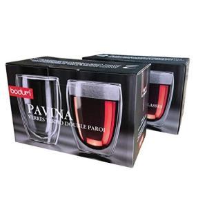 BODUM ボダム PAVINA パヴィーナ ダブルウォール グラス 350ml 2個セット 【正規品】 4559-10J rora2020