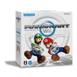 マリオカートWii (「Wiiハンドル」×1同梱)|rora2020