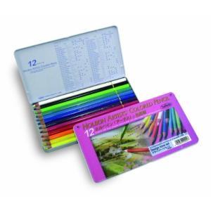 ホルベイン 色鉛筆12色デザイントーンセット OP902|rora2020