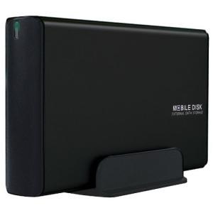 玄人志向 HDDケース(マットブラック) 3.5型対応 USB2.0接続 2つの電源連動機能付きで消し忘れを防止(パソコン電源連動&アクセス連動) G rora2020
