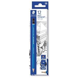 ステッドラー 鉛筆 ルモグラフ 製図用 3B 12本 100-3B|rora2020