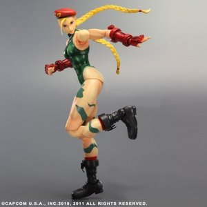 SUPER STREET FIGHTER IV PLAY ARTS改 キャミィ(PVC塗装済みアクションフィギュア) rora2020