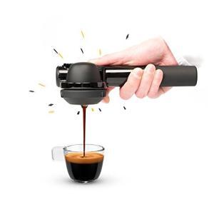 小型エスプレッソマシン Handpresso(ハンドプレッソ)ハイブリッド - カフェポッド・コーヒ...