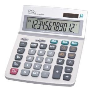 ナカバヤシ 電卓 12桁 L ECD-2113S|rora2020