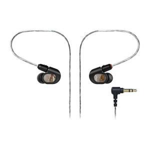 audio-technica オーディオテクニカ バランスド・アーマチュア型インナーイヤーヘッドホン ブラック ATH-E70|rora2020