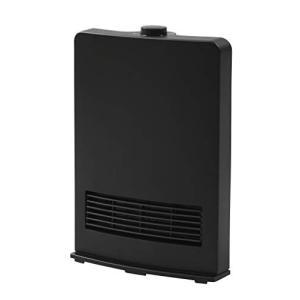 山善 セラミックヒーター(1200W/600W 2段階切替) ブラック DF-J121(B)|rora2020