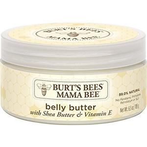アメリカで一番売れてる 妊娠線 クリーム  天然成分 ママビー ベリーバター Burt's Bees...