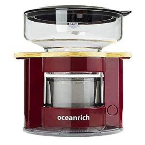 オーシャンリッチ(Oceanrich) 自動ドリップ・コーヒーメーカー レッド UQ-CR8200RD|rora2020