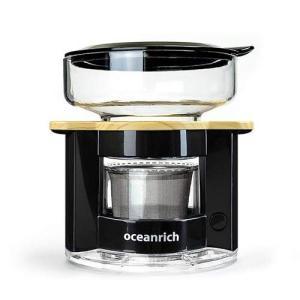 オーシャンリッチ(Oceanrich) 自動ドリップ・コーヒーメーカー ブラック UQ-CR8200BL|rora2020