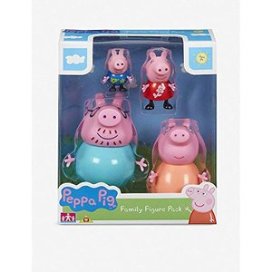 ペッパピッグ ファミリー フィギュア セット - Peppa Pig Family Figures ...
