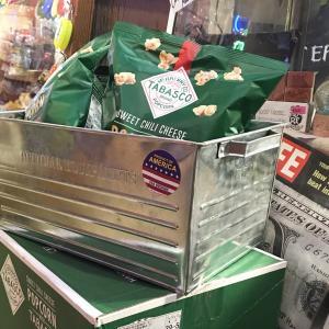 スチール ボックス Lサイズ ティンボックス BOX 小物 収納ケース 鉄 箱 格好良い オシャレ 男前インテリア 生活雑貨 生活用品 ガレージ シルバー|rose-bowl