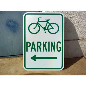 TRAFFIC SIGN / BICYCLE PARKING rose-bowl