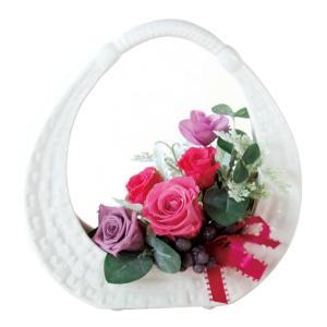 ピクニックベース ピンク/パープル   ウエディング ブーケ 母の日  結婚式  お祝い  ギフト   贈り物   送別会|rose-f