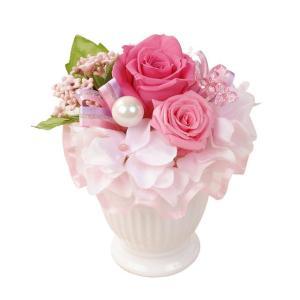 ペンタフル ピンク プリザーブドフラワー ウエディング ブーケ 母の日 ギフト 贈り物 誕生日 送別会 結婚式|rose-f