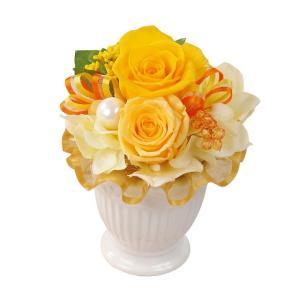 ペンタフル イエロー プリザーブドフラワー ウエディング ブーケ 結婚式 ブーケ 母の日 ギフト 贈り物 誕生日 送別会 結婚式|rose-f