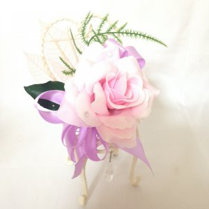 クリスタルパフュームフラワー チェア 贈り物 誕生日 送別会 結婚式|rose-f