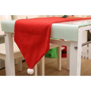 完売♪Merry Xmas テーブルランナー35X175cm クリスマスコーディネート |rose-viva-shop