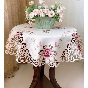 円形 テーブルクロス85cm 薔薇 #518/ |rose-viva-shop