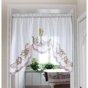 完売1送料込み のれん風カフェカーテン 150×95cm |rose-viva-shop