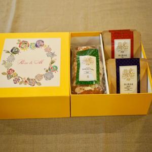 レモンケーキセットA(レモンケーキ ホール1個、個包装ティーバッグ5個、個包装ドリップパック5個)箱入り 4320円|roseandm