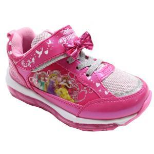 光る靴 ディズニー ディズニー プリンセス Disney ディズニー 靴 女の子 マジック スリッポン キッズスニーカー 子供靴 7224|rosecat|06