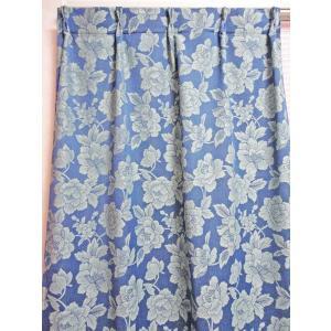 オーダーカーテン オールドローズ 幅  〜100 × 丈 〜135cm 北欧 洋風 おしゃれ かわいい エレガンス 手作り フェミニン |rosedeco