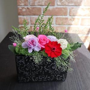 和風モダン アラベスククブラック 母の日ギフト|rosegarden