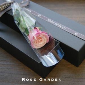 ブラックボックス・薔薇(バラ)のプリザーブドフラワーギフト  新色グラデーション 女性 誕生日|rosegarden