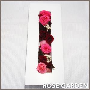 【フレームシリーズ】バラのプリザーブドのフラワーアレンジメント|rosegarden