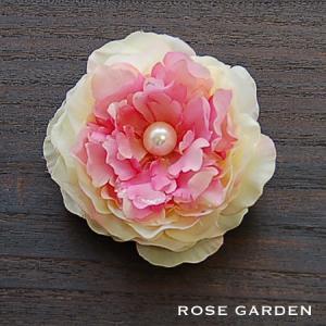 【結婚式2次会、成人式のヘアアクセ】ラナンキュラス・ベビーピンク コサージュ|rosegarden