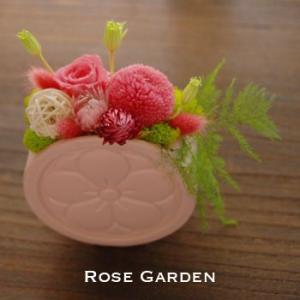 バラの和風プリザーブドフラワーギフト 小桜|rosegarden