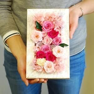 ウッドフレーム  母の日バラのギフト|rosegarden