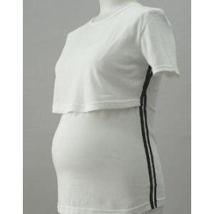 マタニティインナー 半袖 授乳機能付き ローズマダム|rosemadame