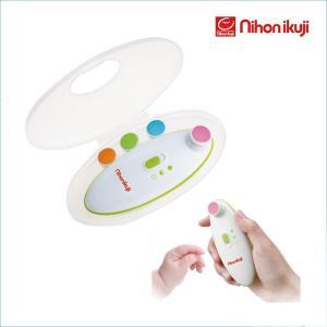 ベビー 爪やすり キッズ 赤ちゃんを起こさず電動で爪切り! 日本育児 Nihonikuji 爪やすり ネイルケア セット|rosemadame