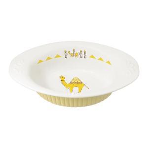 小振りに見えて、容量はしっかり。毎日カレーが食べたくなっちゃう愛らしいカレー皿です。 生産国:中国 ...