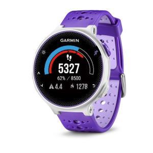 ガーミン Garmin GPS搭載ランニングウォッチ フォアアスリート230J カラーディスプレイ 16時間稼働 パープル-ストライク 腕時計 日本版正規品 010-03717-88|roshie