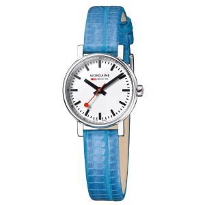 モンディーン Mondaine 腕時計  Evo Petite  エヴォ プチ ブルー 正規輸入品1年保証 A658.30301.11SBD|roshie