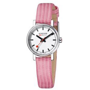 モンディーン Mondaine 腕時計  Evo Petite  エヴォ プチ ピンク 正規輸入品1年保証 A658.30301.11SBP|roshie