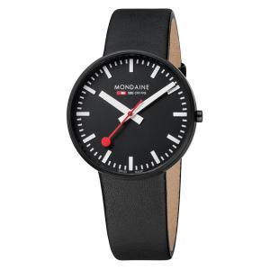 モンディーン Mondaine 腕時計  Evo Giant Black&White  エヴォ ジャイアント ブラック&ホワイト 正規輸入品1年保証 A660.30328.64SBB|roshie