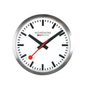 モンディーン Mondaine 壁掛け時計  Wall Clock  ウォール クロック 直径25cm 正規輸入品1年保証 A990.CLOCK.16SBB|roshie