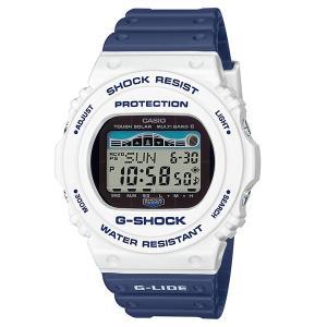 G-ショック G-SHOCK 腕時計 G-LIDE 2019 釣りやマリンスポーツに便利なタイドグラフ搭載 デジタル 電波ソーラー CASIO カシオ 国内正規品 GWX-5700SS-7JF|roshie