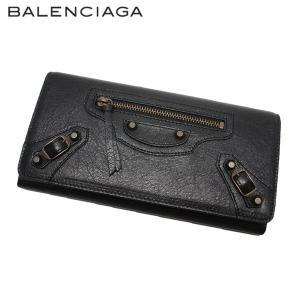 BALENCIAGA バレンシアガ 163471 D940T 1000 BLACK ザ・マネー(THE MONEY) ブラック 長財布|rossano