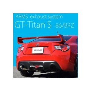 競技用マフラー 86 ZN6 BRZ ZC6 ARMS GT-Titan S ハチロク レース ドリフト ロッソモデロ|rossomodello|03