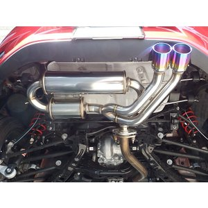 【受注生産】【送料無料】COLBASSO Ti-C TIG-V フルTIG溶接 ロードスター マフラー ND5RC MT ロッソモデロ 車検対応|rossomodello|02