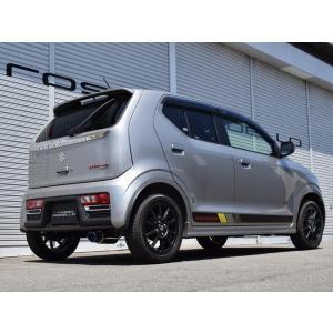 在庫あり!【新基準クリア】COLBASSO Ti-C アルトRS マフラー HA36S ターボ 2WD  ロッソモデロ|rossomodello