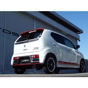【新基準クリア】COLBASSO Ti-C アルトRS マフラー HA36S ターボ 4WD  ロッソモデロ|rossomodello|04